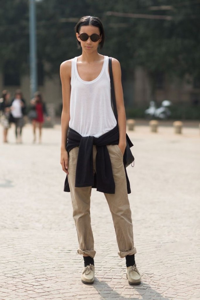How to wear Wallabee shoes