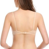 Women's Sexy Lace Bra Mesh Underwire See Through Demi Bra Unlined Bralette. Low-cut and open neckline design s hows your beautiful cleavage. A tiny bowknot in the center level up your femininity. Sun, 29 Aug 2021 12:00:49 +0400