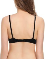 Women's Sexy Lace Bra Mesh Underwire See Through Demi Bra Unlined Bralette. Low-cut and open neckline design s hows your beautiful cleavage. A tiny bowknot in the center level up your femininity. Sun, 29 Aug 2021 18:01:05 +0400