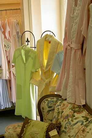Sleepwear, robes and more at  The Lingerie Shoppe, Birmingham AL