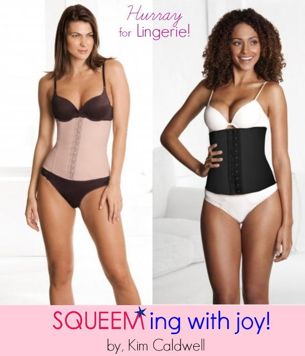 Squeeming with Joy by Kim Caldwell hurray for lingerie