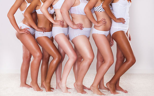 via Huffington Post 2015 Stop The Body Shaming Article on Lingerie Briefs