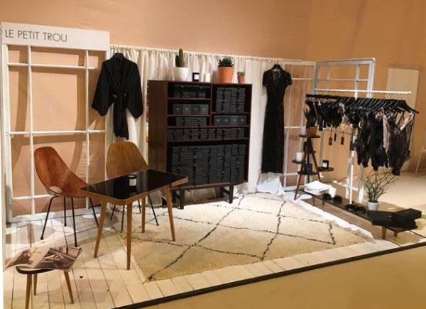 Le Petit Trou lingerie at Salon de la Lingerie on Lingerie Briefs
