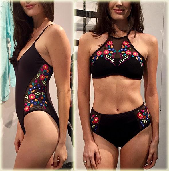 Kenneth Cole Swimwear on Lingerie Briefs
