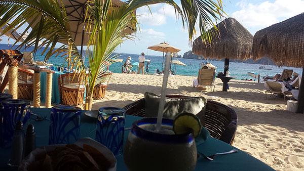 Cascadas on Medano Beach Cabo San Lucas on Lingerie Briefs