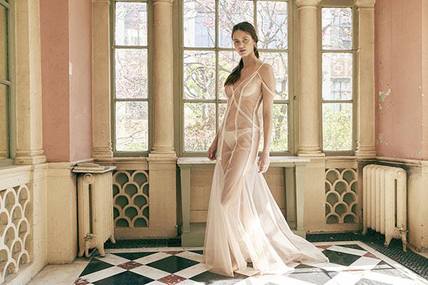 Maison Lejaby OUI bridal lingerie collection on Lingerie Briefs