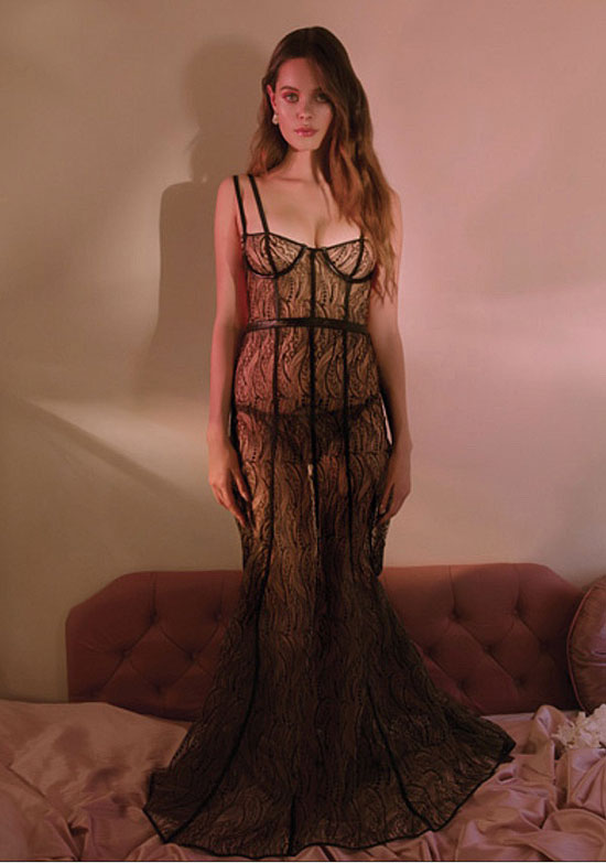 Loveday London Boudoir wear SP 2018 on Lingerie Briefs