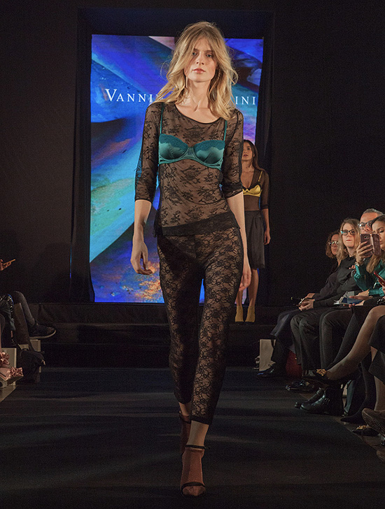 Vannina Vesperini fashion show in the Gallery on Lingerie Briefs