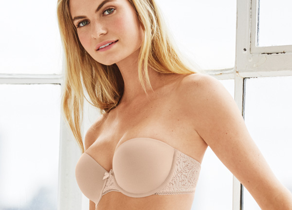 Modern Method Strapless bra ~ b.tempt'd