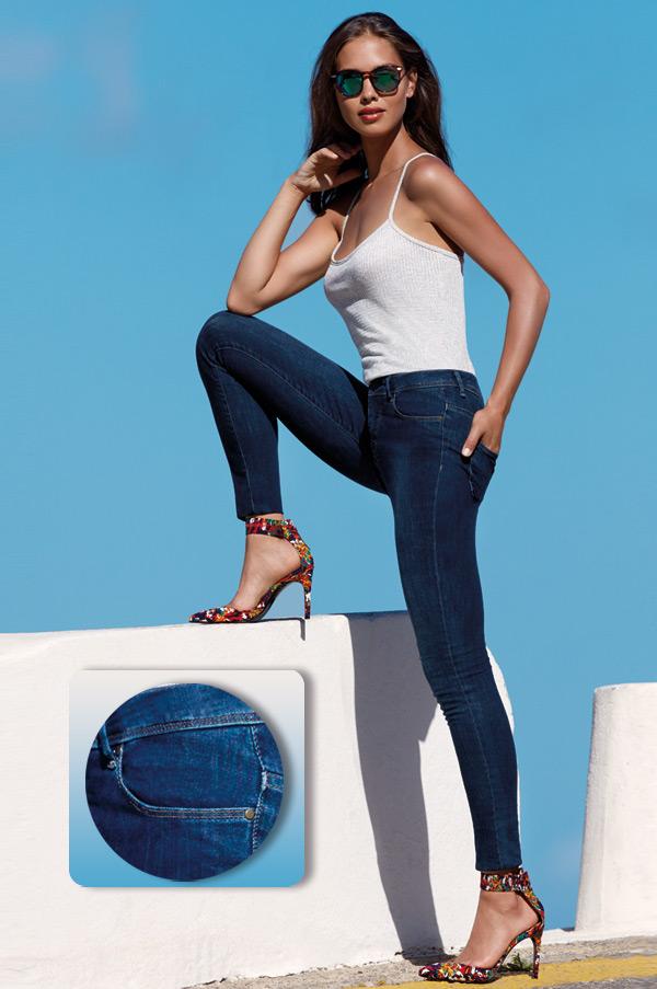skinny jeans by Janira