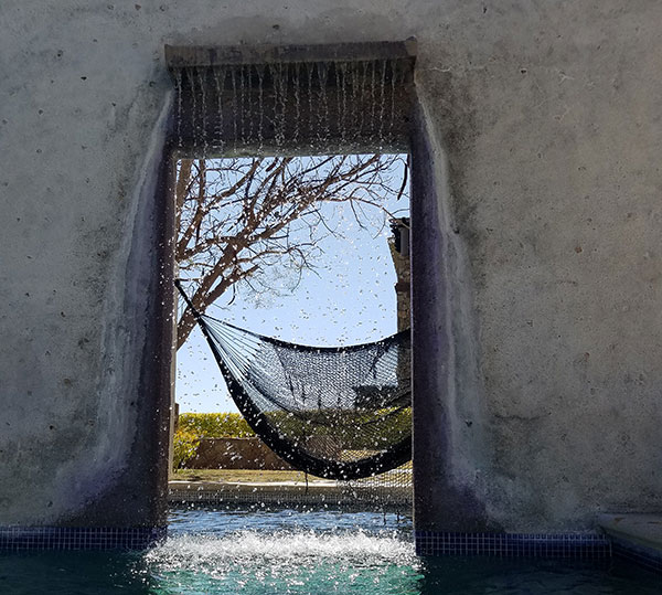 Pool at Ventanas de Cabo in Cabo San Lucas by Ellen Lewis on Lingerie Briefs