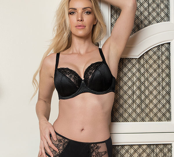 fit Fully Yours Veronica Bra and panty on Lingerie Briefs