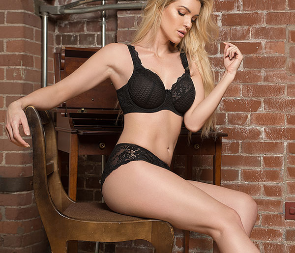 fit Fully Yours Serena Bra and panty on Lingerie Briefs