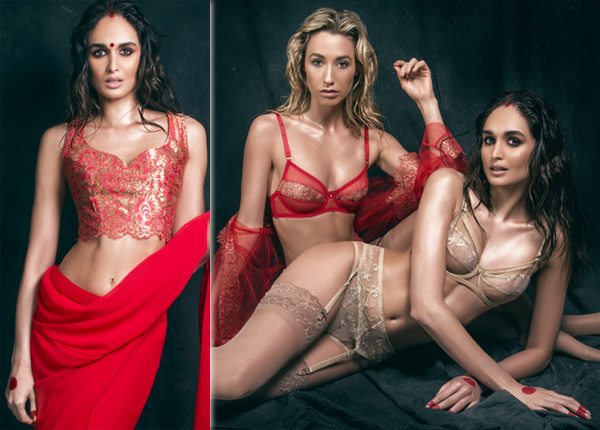 Pure Chemistry Lost Rani Indian Bridal Lingerie featured on Lingerie Briefs