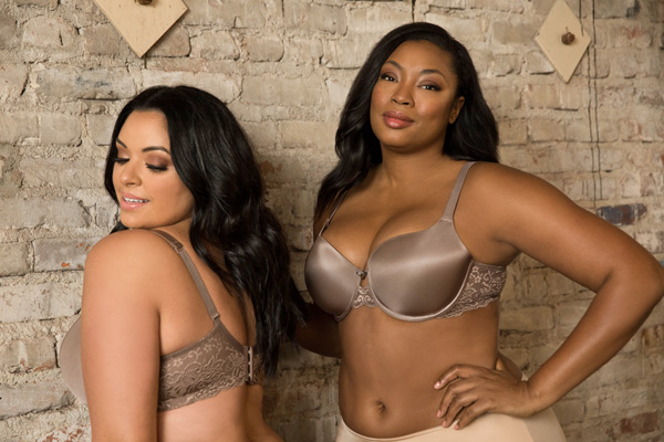 Curvy Couture adds new skin tone shades to lingerie collections - featured on Lingerie Briefs