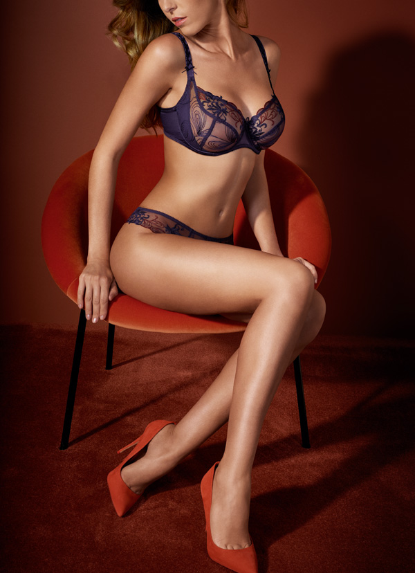 Empreinte TOSCA in Chianti featured on Lingerie Briefs