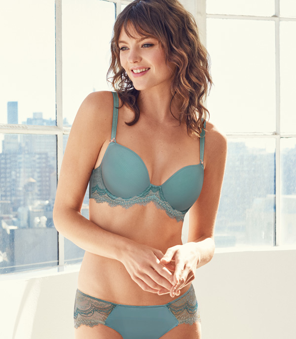 New Wink Worthy T-Shirt Bra by b.tempt'd - featured on Lingerie Briefs