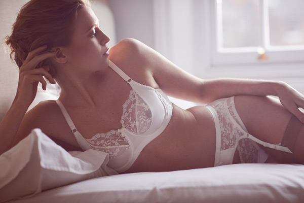 Katherine Hamilton Sophia Ivory collection - featured on Lingerie Briefs