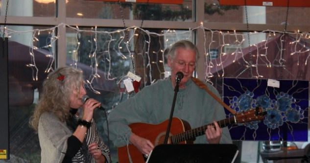 Just last week I went with a friend to hear some local musicians.
