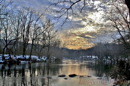 A winter view of The Shenandoah.