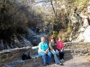 Carole, Vonnie, and I @ Natural Bridge