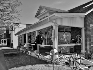 Shenandoah County Store Front Signs in Black and White # (5)