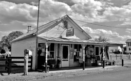 Shenandoah County Store Front Signs in Black and White # (6)