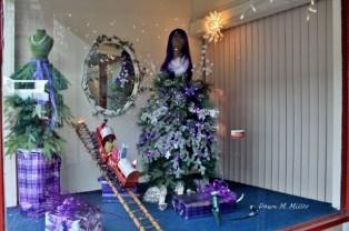 Strasburg Window at Christmas