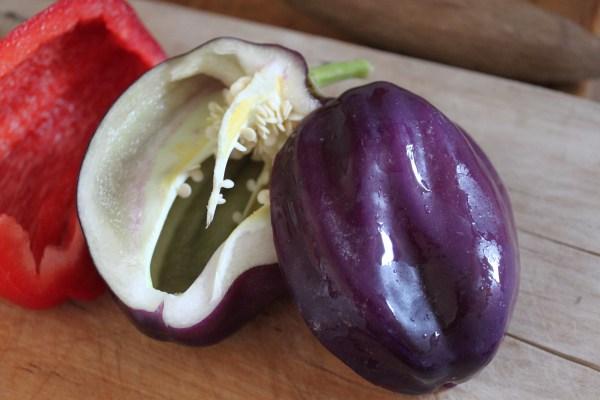 Purple bell peppers LingFree