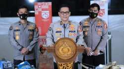 Kadiv Humas Polri Irjen Argo Yuwono dalam jumpa pers baru-baru ini. (DOK. LINGKAR. CO)