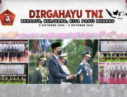 HUT Ke-76 TNI, Presiden: Pandemi Ini Ibarat Perang yang Berlarut-larut