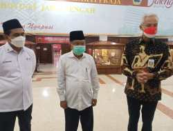 Dewan Kehormatan dan Pengurus PMI Jateng Dilantik, Ganjar: Tim Solid, Pengalaman Top