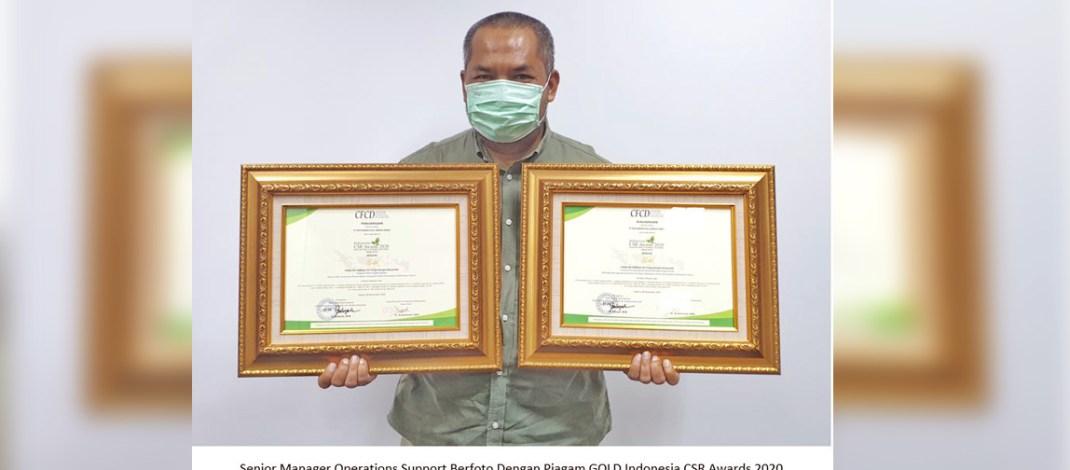 PHSS Raih Penghargaan di Indonesia CSR Awards 2020