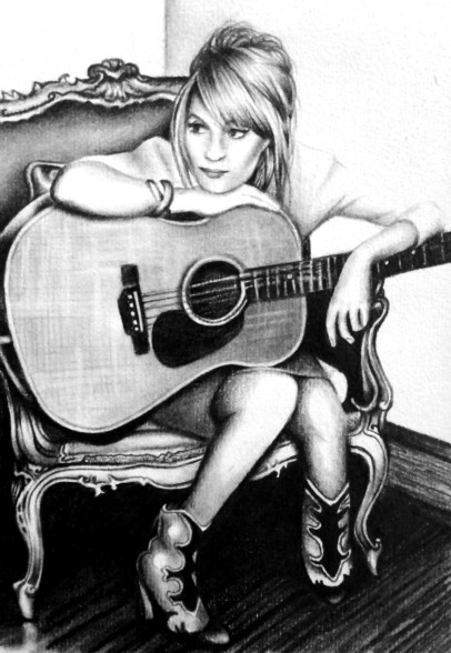Music Drawing by Ling McGregor
