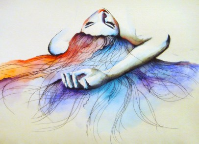 Watercolour by Ling McGregor