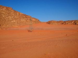 砂漠の鉄塔