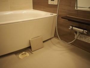 浴室の排水口