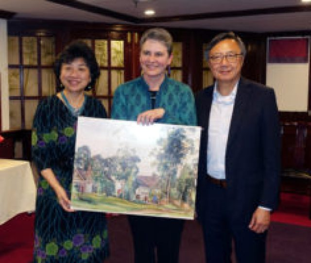 At Their May 2nd 2017 Meeting In New York City Helena Kolenda Stepped Down As Trustee Of The Lingnan Foundation Dr Chui L Tsang Chair