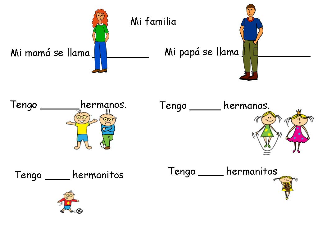 Spanish 101 How Not To Confuse Hermanos Land Of Lingtechguistics