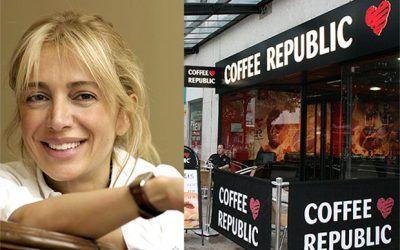 سحر الهاشمي ملكة على جمهورية القهوة