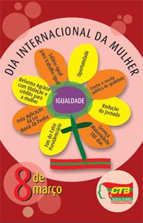 Dia da Mulher comemorado em Itabuna