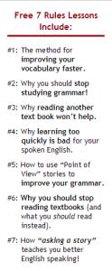 AJ Hoge 7 правил Effortless English на английском языке