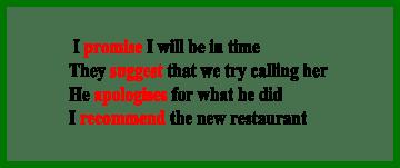 Present Simple (презент симпл) с глаголами состояния, обещания, советов