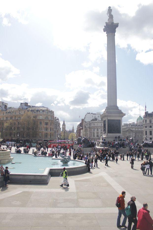 виртуальный тур по Лондону - Трафальгарская площадь