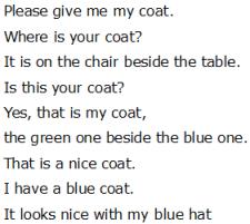 Привет по-английски - Please give me my coat