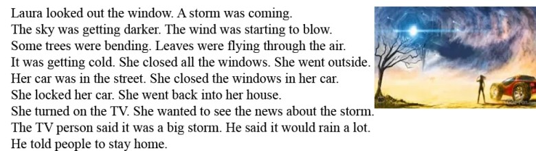 Читать и слушать на английском - A Storm