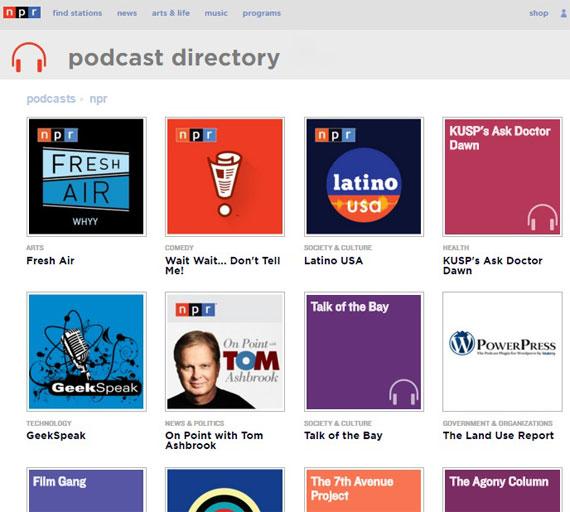Аудиоматериалы на английском - подкасты NPR
