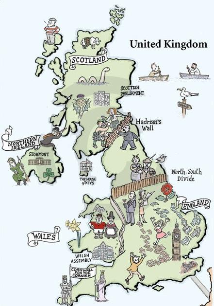 where is the UK Где находится Великобритания