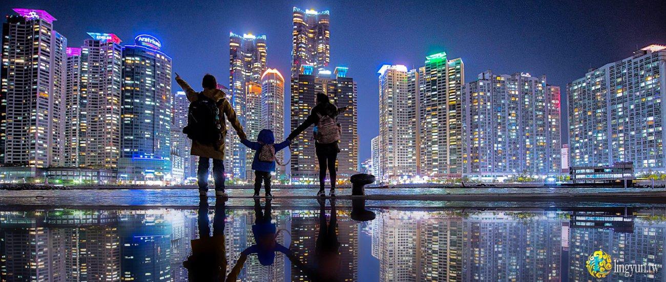 釜山必去的夜景盤點整理》韓國自由行|The Bay 101、天馬山、影島青鶴展望台、樂天光復店|不容錯過的韓國夜景
