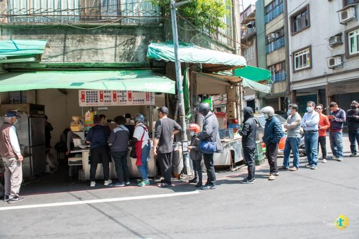 永樂街無名排隊燒肉飯》在地人才知道的美味便當 桃園大廟永和市場美食推薦